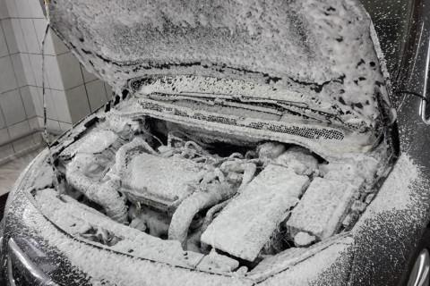 автомойка в автосервисе Опель