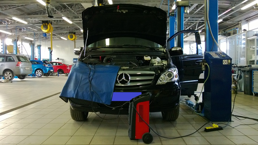 Чип тюнинг Mercedes
