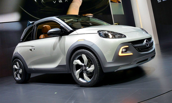 Из Opel Adam сделали кроссовер