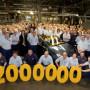 Два миллиона автомобилей OPEL произведено на заводе в Гливице