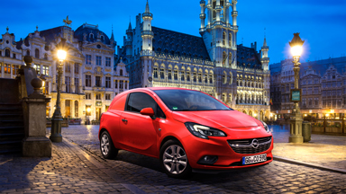 Новый Opel Corsa VAN празднует мировую премьеру в Брюссельском Мотор-Шоу. Улучшенные показатели, сокращение сроков ТО