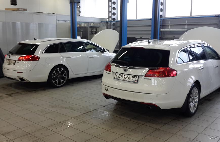Тест-драйв Opel Insignia: обновленный, одаренный