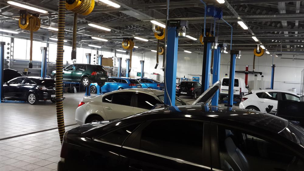 обслуживание и запчасти Opel Zafira