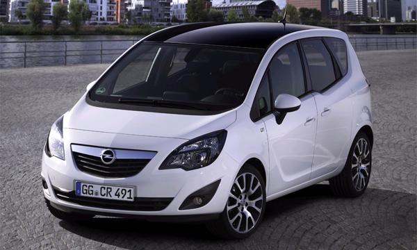 Opel подготовил особый выпуск минивэна Meriva