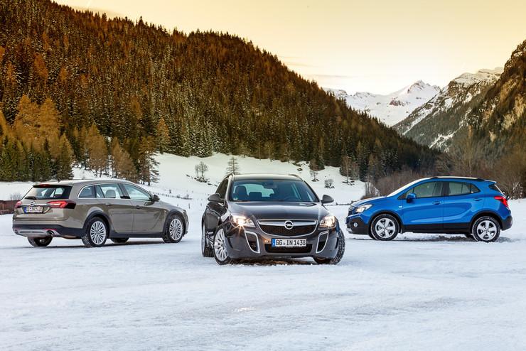 Даешь угла! Тест полноприводных Opel Insignia и Opel Mokka