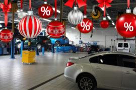 Скидки автосервиса на работы для подготовке автомобиля к зиме