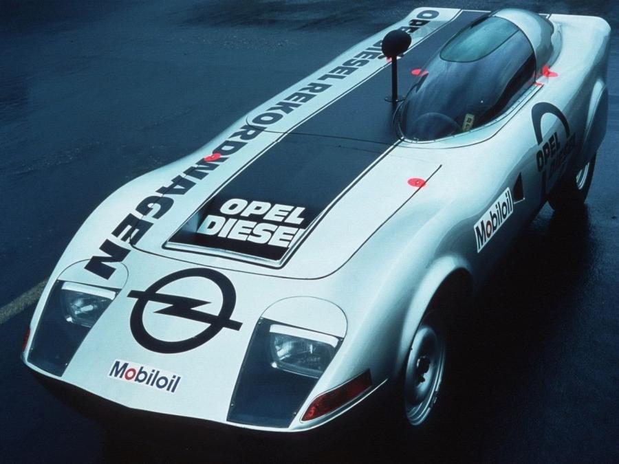 Автосервис Opel Diesel weltrekord GT