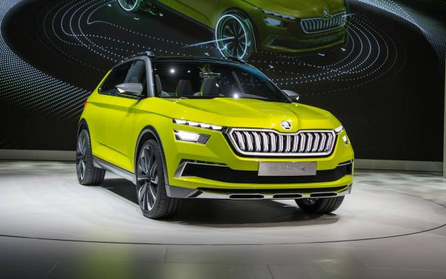 Обзор новинки 2019 года: стильный концепт кроссовера Škoda Vision X 2018