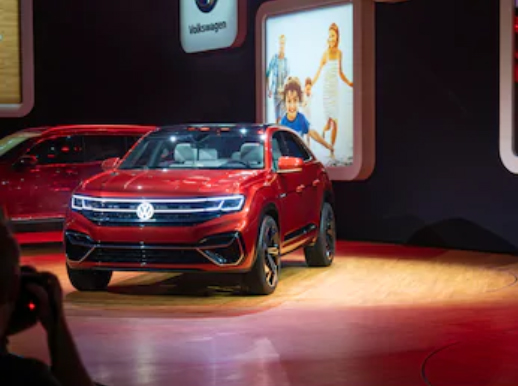 экстерьер Volkswagen Atlas Cross Sport