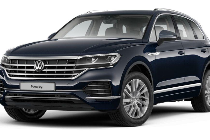 Volkswagen Touareg третьего поколения