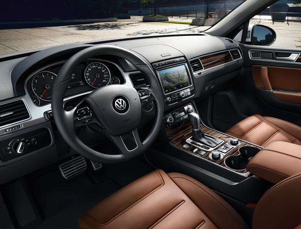 Volkswagen Touareg 3-го поколения