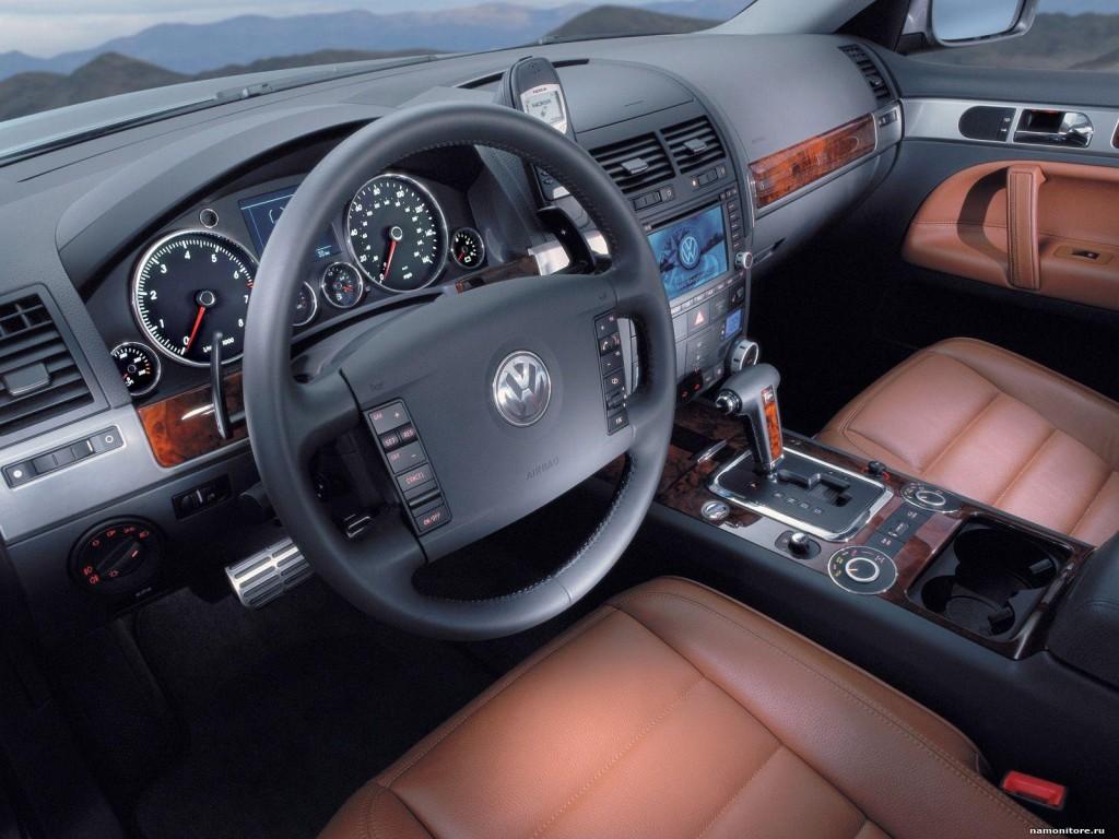 Volkswagen Touareg салон