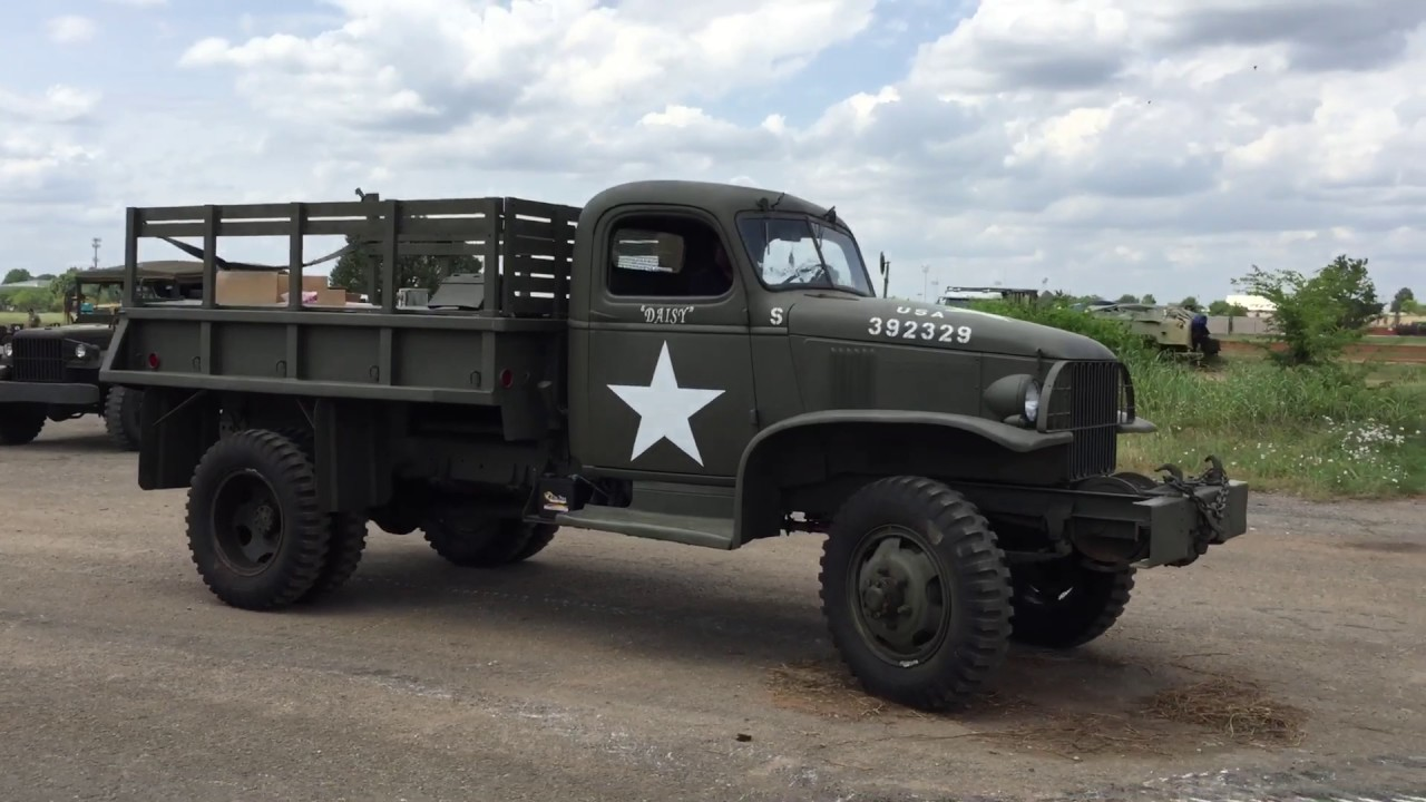 G7107 – армейский грузовик