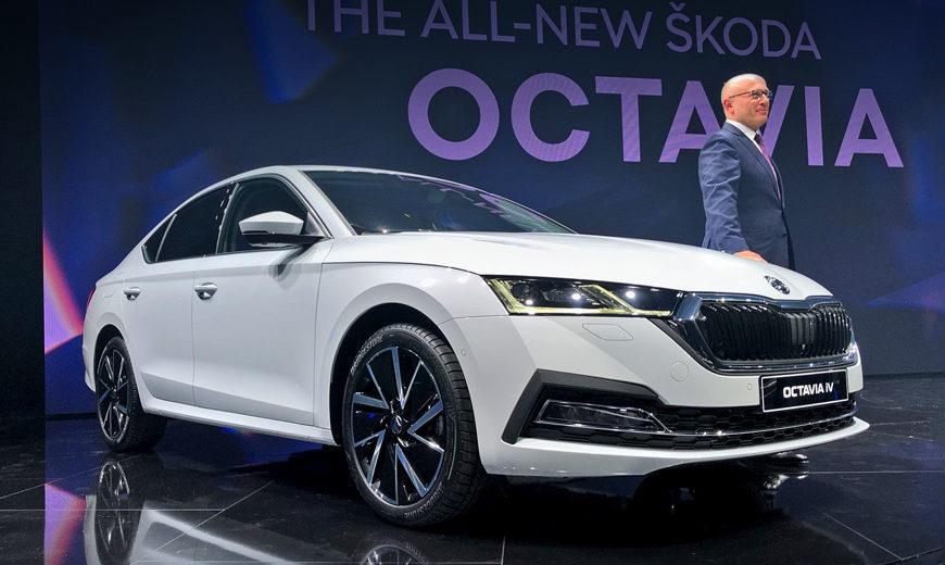 Skoda Octavia похвасталась улучшенными моторами и электроникой