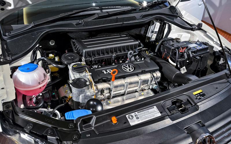 Атмосферный двигатель 1.6 серии CFNA (85 и 105 л.с.)