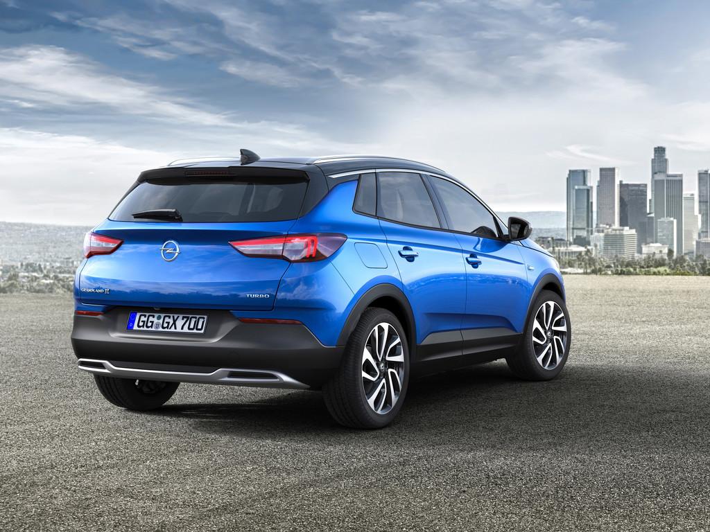 Opel Grandland X сервис