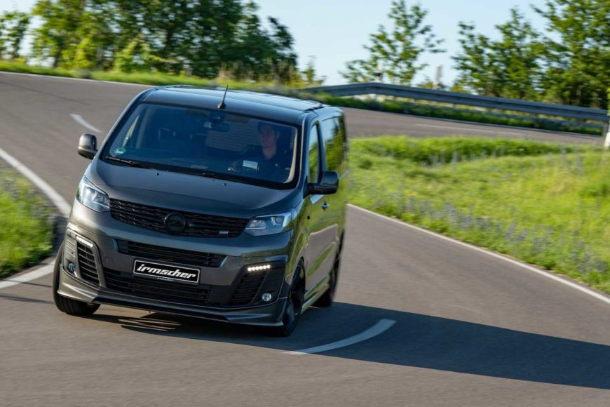 Irmscher Black Phantom — Это Фургон Opel 'Lifestyle'