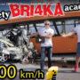 Смотрите самую быструю в мире аварию между автомобилем, идущим со скоростью 129 миль в час, и городским автобусом