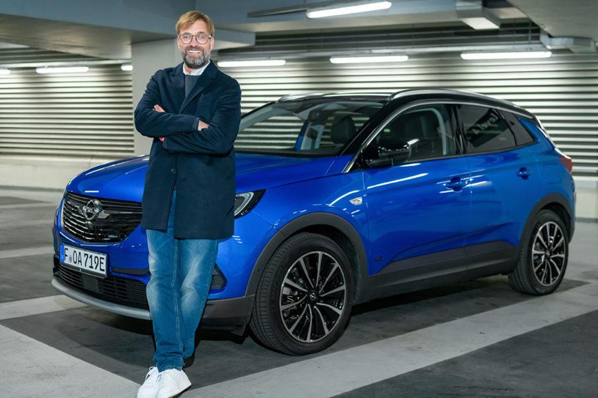 Амбассодор бренда Opel Юрген Клопп снова стал менеджером года