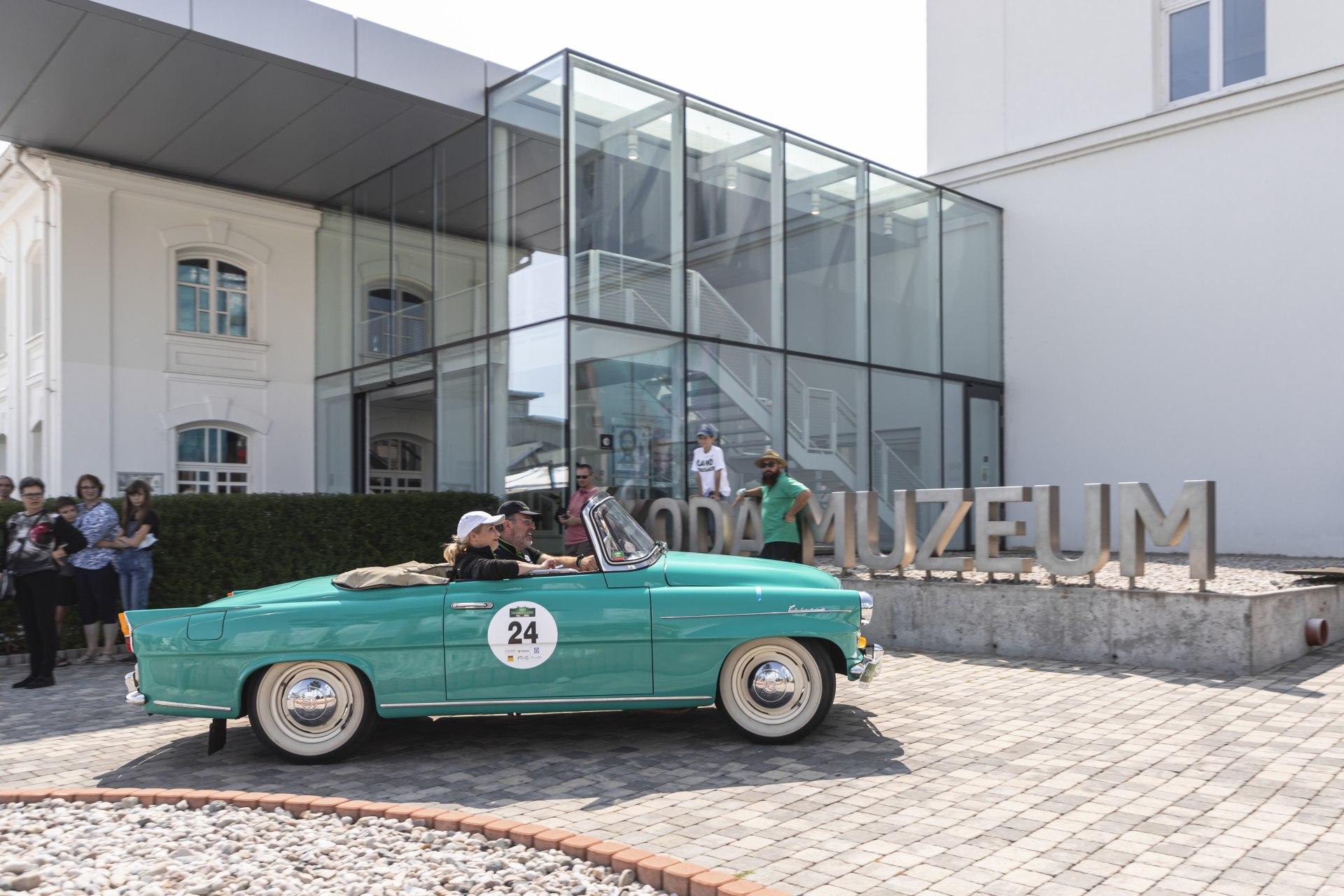 Шкода на выставке Sachsen Classic 2021
